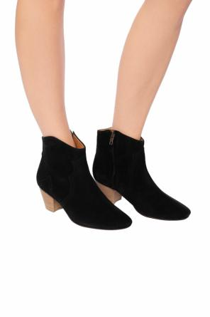 'dicker' suede ankle boots od Isabel Marant