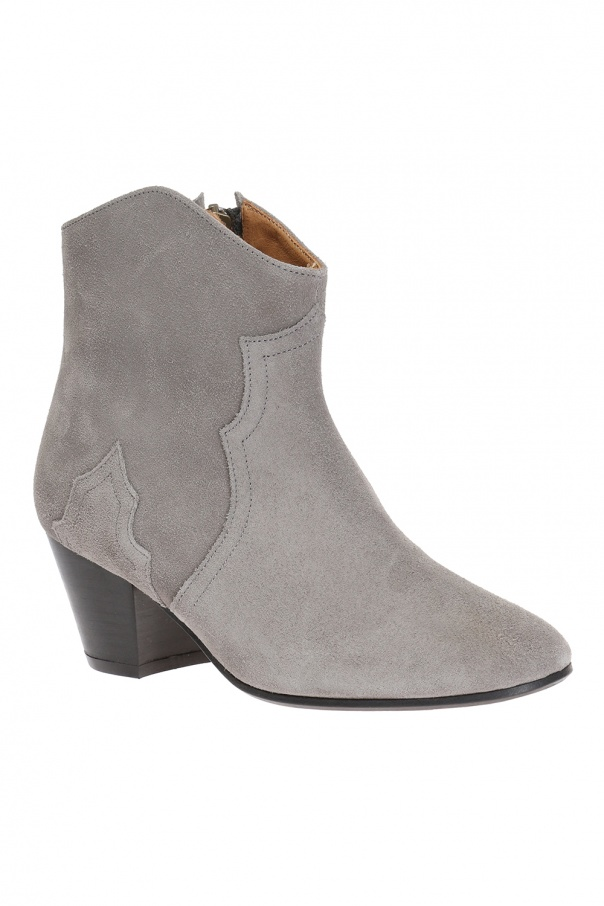 39 dicker 39 heeled ankle boots isabel marant vitkac shop online. Black Bedroom Furniture Sets. Home Design Ideas