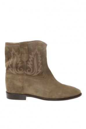 'crisi' stitched ankle boots od Isabel Marant