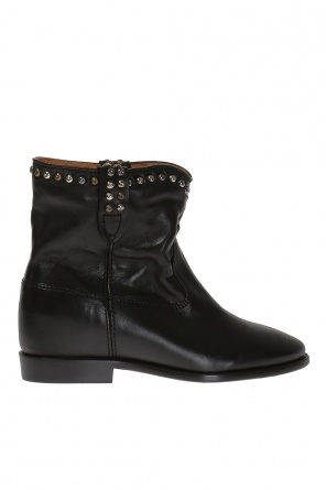 'crisi' studded leather ankle boots od Isabel Marant
