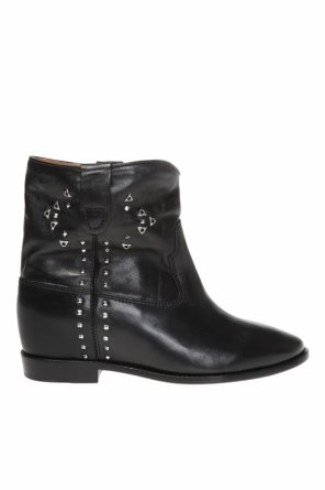 'cluster' ankle boots with metal elements od Isabel Marant