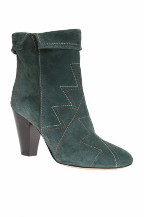 'darilay' heeled ankle boots od Isabel Marant