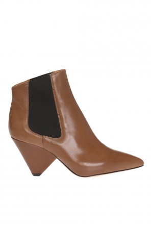 'lashby' heeled ankle boots od Isabel Marant
