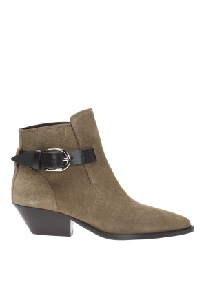 'ducklee' heeled ankle boots od Isabel Marant