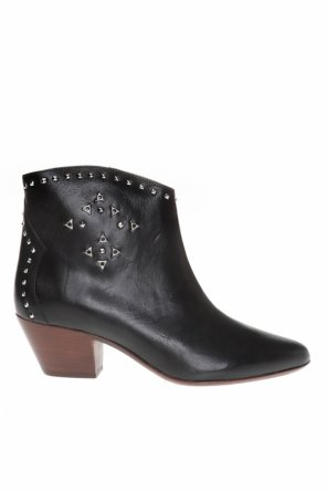 'dacken' heeled ankle boots od Isabel Marant