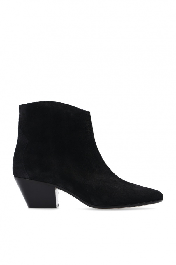 Isabel Marant 'Dacken' suede ankle boots