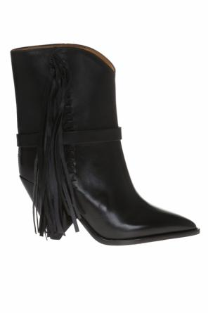 'loffen' heeled ankle boots od Isabel Marant