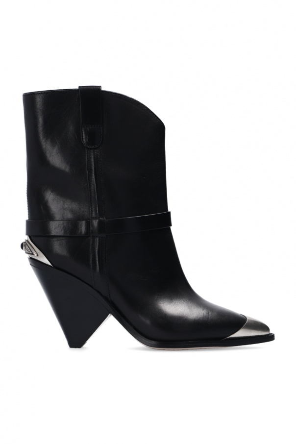 Isabel Marant 'Lamsy' heeled ankle boots