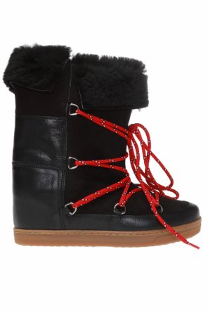 'nowly' wedge moon boots od Isabel Marant