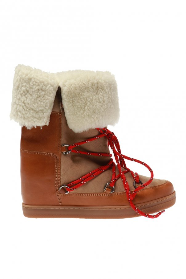 new arrival 0a78a 41508 Nowly' wedge moon boots Isabel Marant - Vitkac shop online