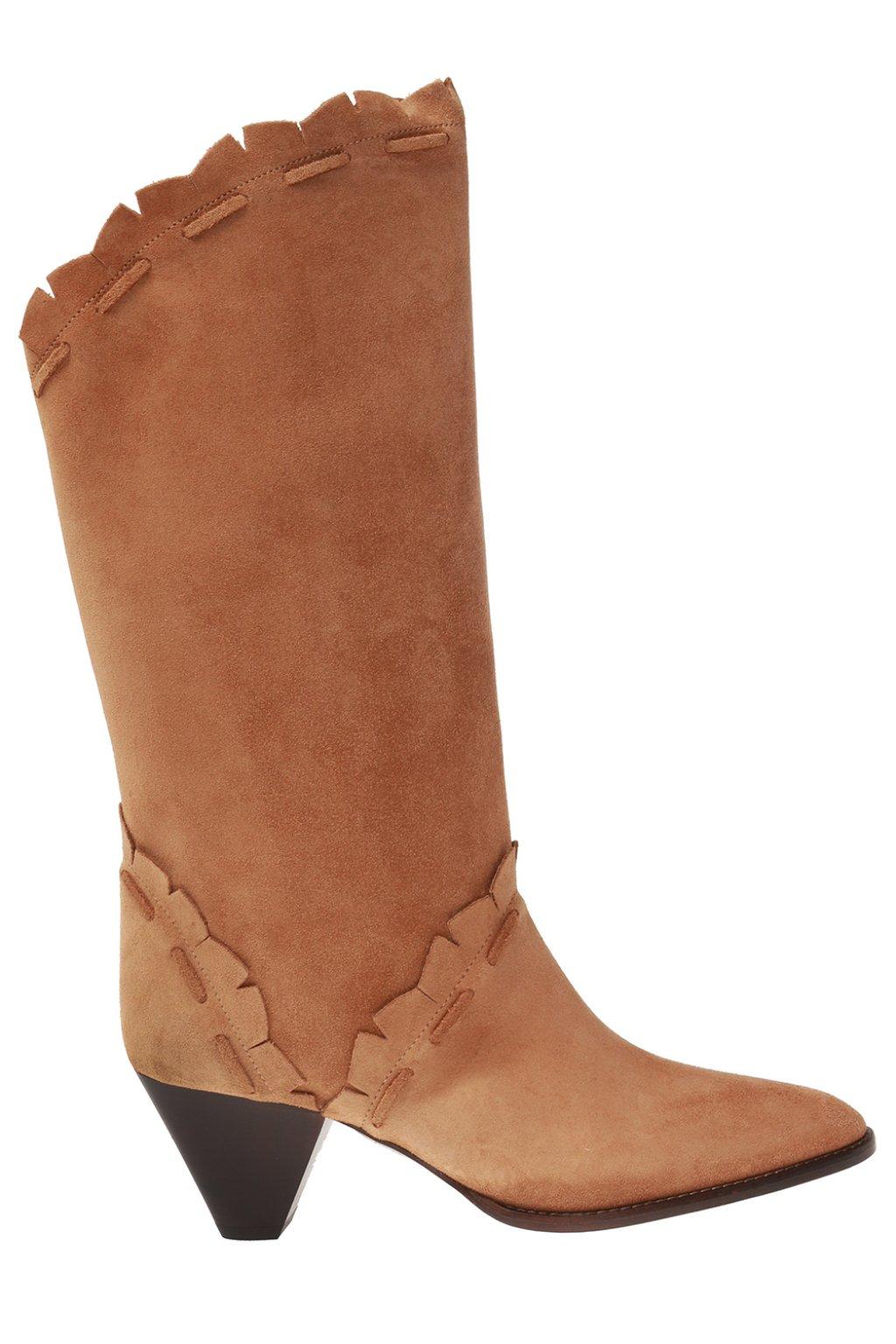 Leesta Heeled Boots Isabel Marant Vitkac Us