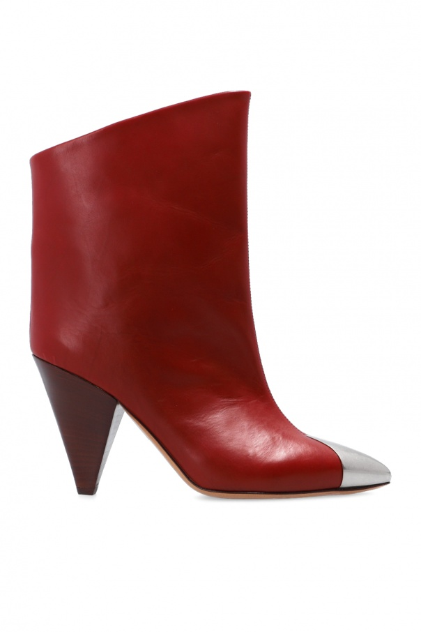 Isabel Marant 'Lapee' heeled ankle boots