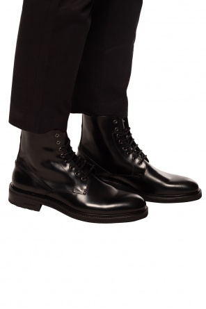 'britt' leather shoes od AllSaints