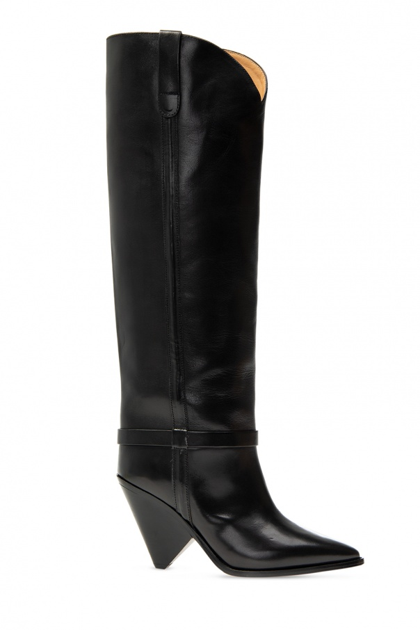 Isabel Marant 'Lenskee' heeled knee-high boots