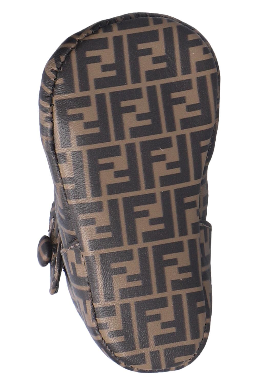 Fendi Kids Logo-patterned sandals