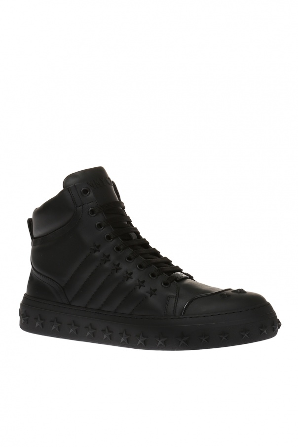 'cassius' high-top sneakers od Jimmy Choo