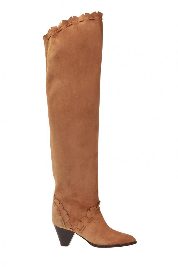 'luiz' heeled boots od Isabel Marant