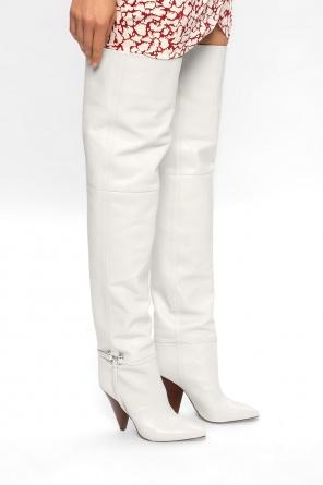 'lage' heeled boots od Isabel Marant