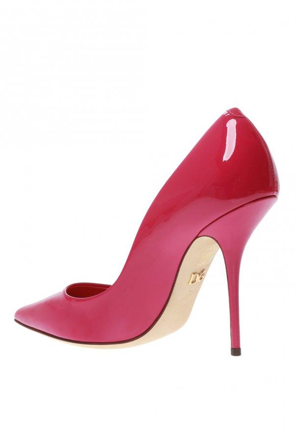 Patent leather stiletto pumps od Dolce & Gabbana