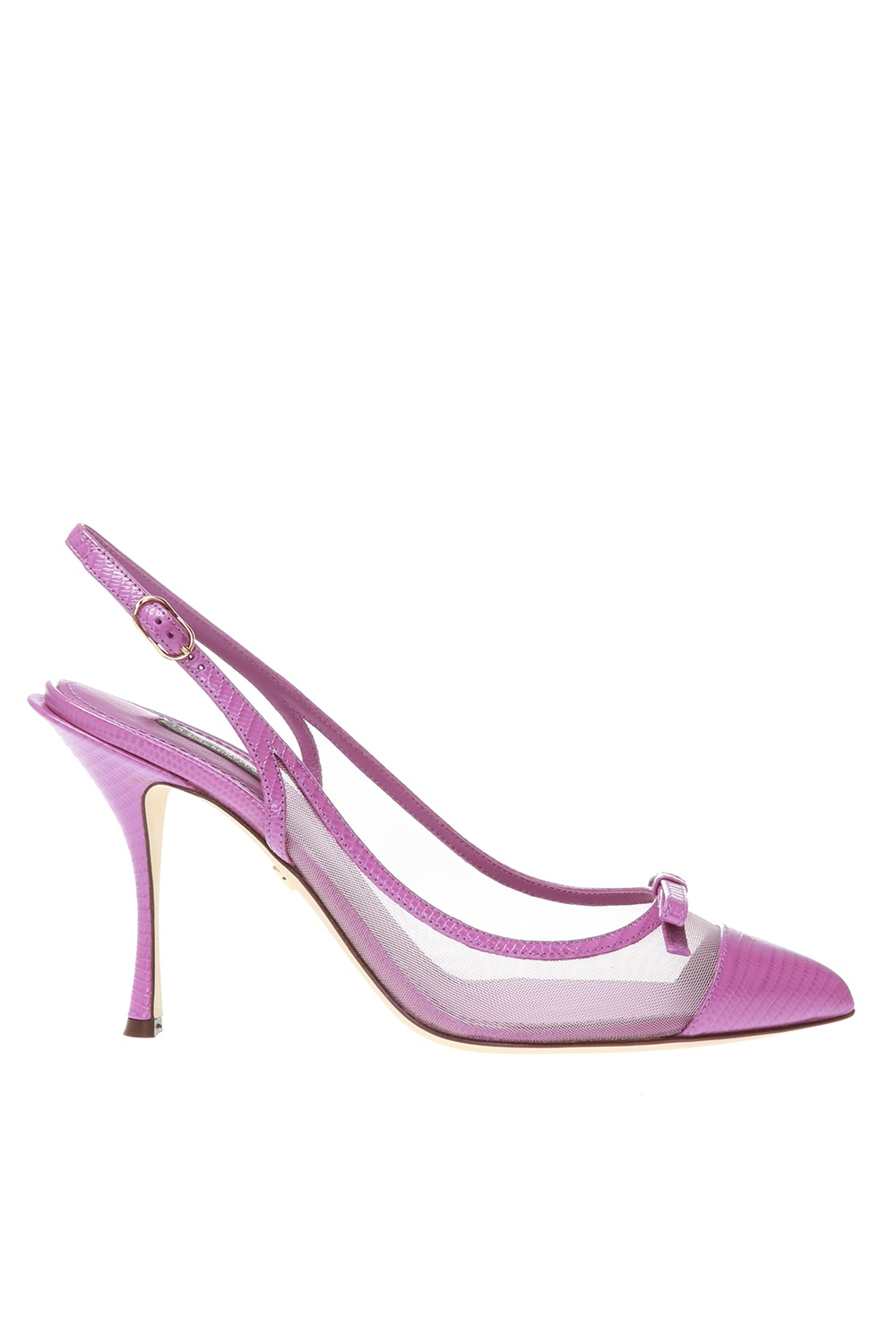Dolce & Gabbana 'Slingback' pumps with cut-out
