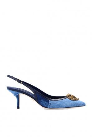 Appliquéd stiletto pumps od Dolce & Gabbana