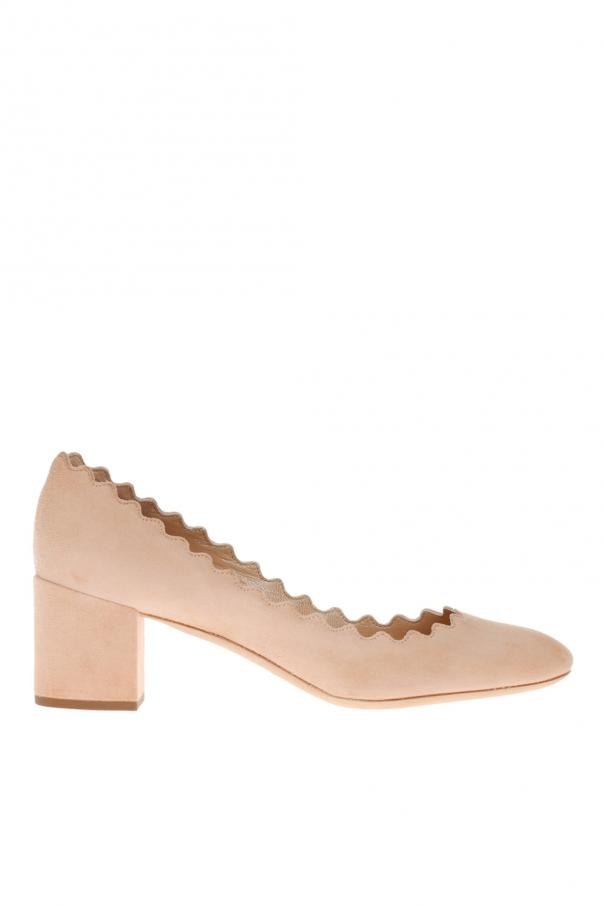 Chloe 'Lauren' suede pumps