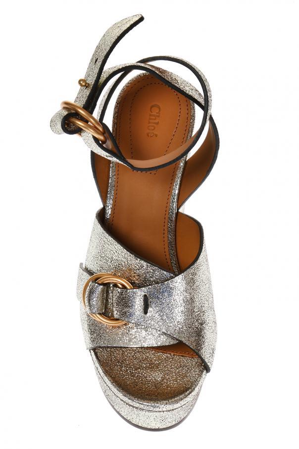 2f24d0b5d3a Kingsley  platform sandals Chloe - Vitkac shop online