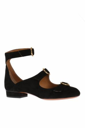 Triple buckle strap shoes od Chloe