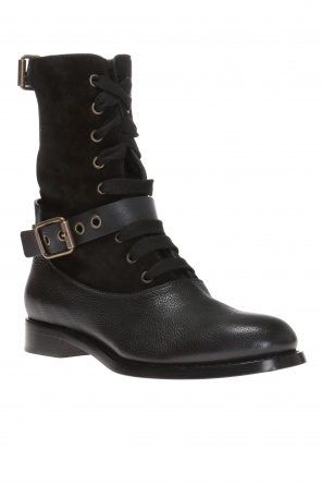 'orson' lace-up ankle boots od Chloe