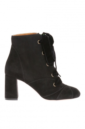 Lace-up heeled boots od Chloe