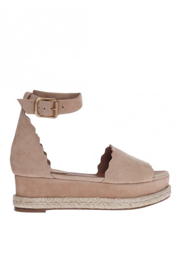 Chloe 'Lauren' platform sandals