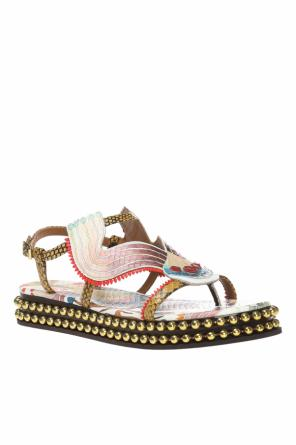 'sloan' patterned sandals od Chloe