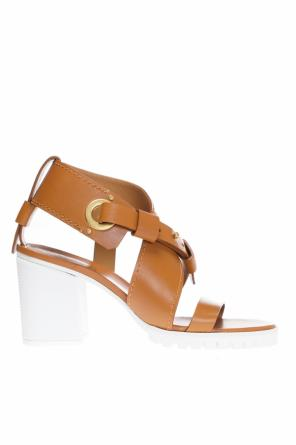 Heeled sandals od Chloe