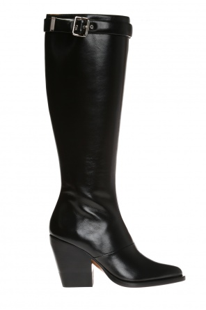 'serina' over-the-knee boots od Chloe