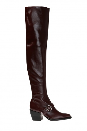 'rylee' thigh high, heeled boots od Chloe