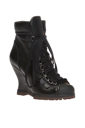 'river' wedge ankle boots od Chloe