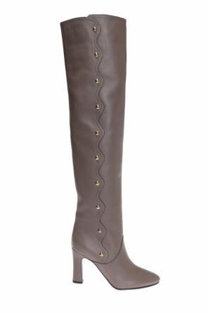 'qaylee' over-the-knee boots od Chloe