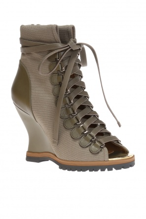 'river' wedge boots od Chloe