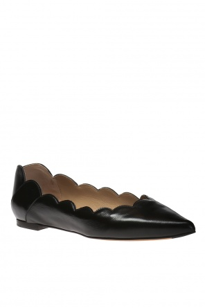 Laurent' ballerinas with decorative cut-outs od Chloe