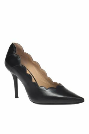 Stiletto pumps with decorative cut-outs od Chloe