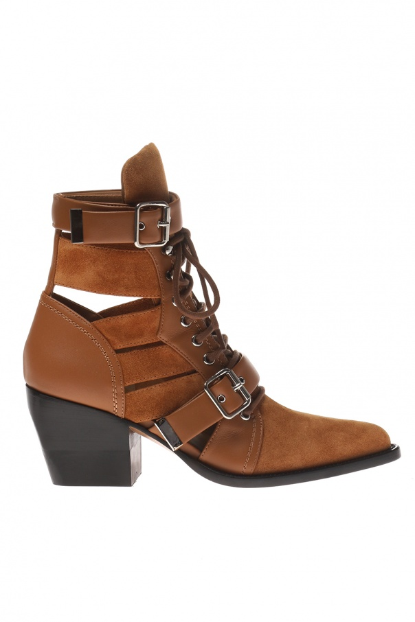 Chloé 'Rylee' heeled ankle boots