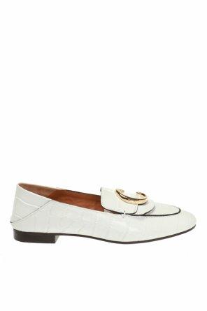 329e5b74e7 ... Buty typu  loafers  z logo od Chloe