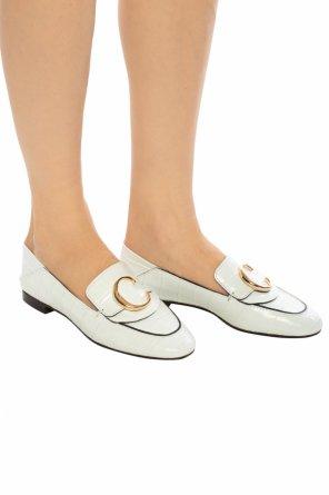 5debdbd52f Buty typu  loafers  z logo od Chloe ...