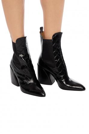 f9aa181b91c  wave chelsea  heeled ankle boots od Chloe   ...