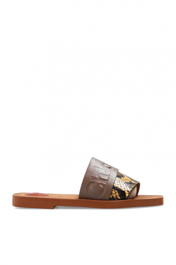 Chloé Leather slides