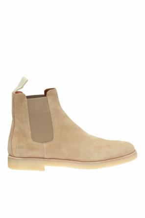 Suede ankle boots od Common Projects