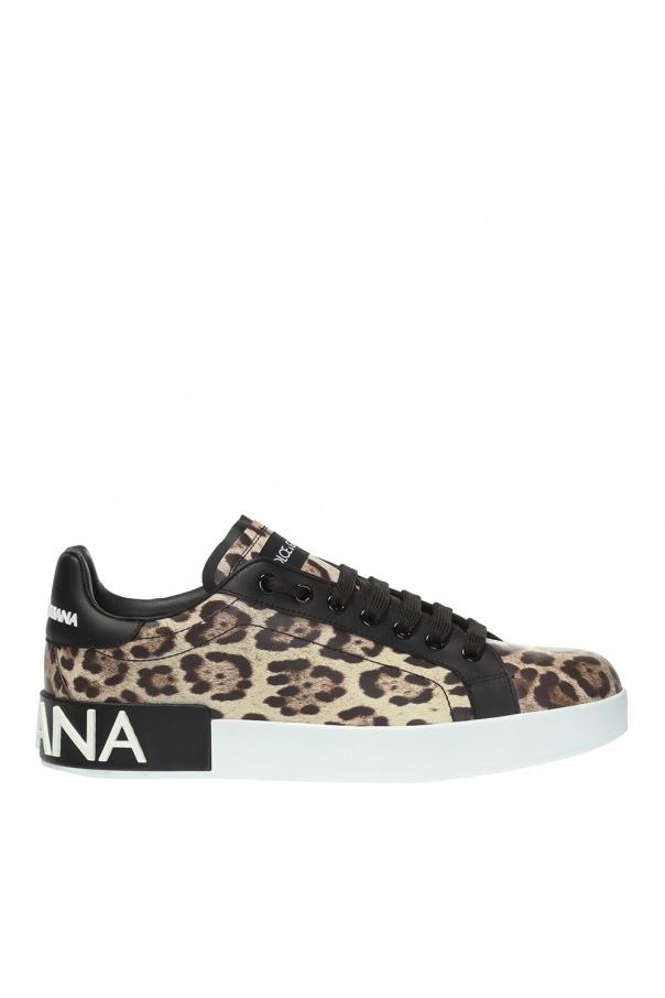 Dolce & Gabbana Leopard-printed sneakers