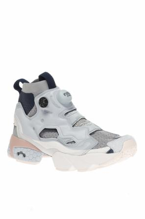'instapump' sneakers with sock od Reebok