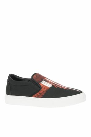 Printed slip-on sneakers od Marcelo Burlon