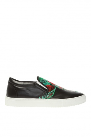 Embroidered shoes od Marcelo Burlon